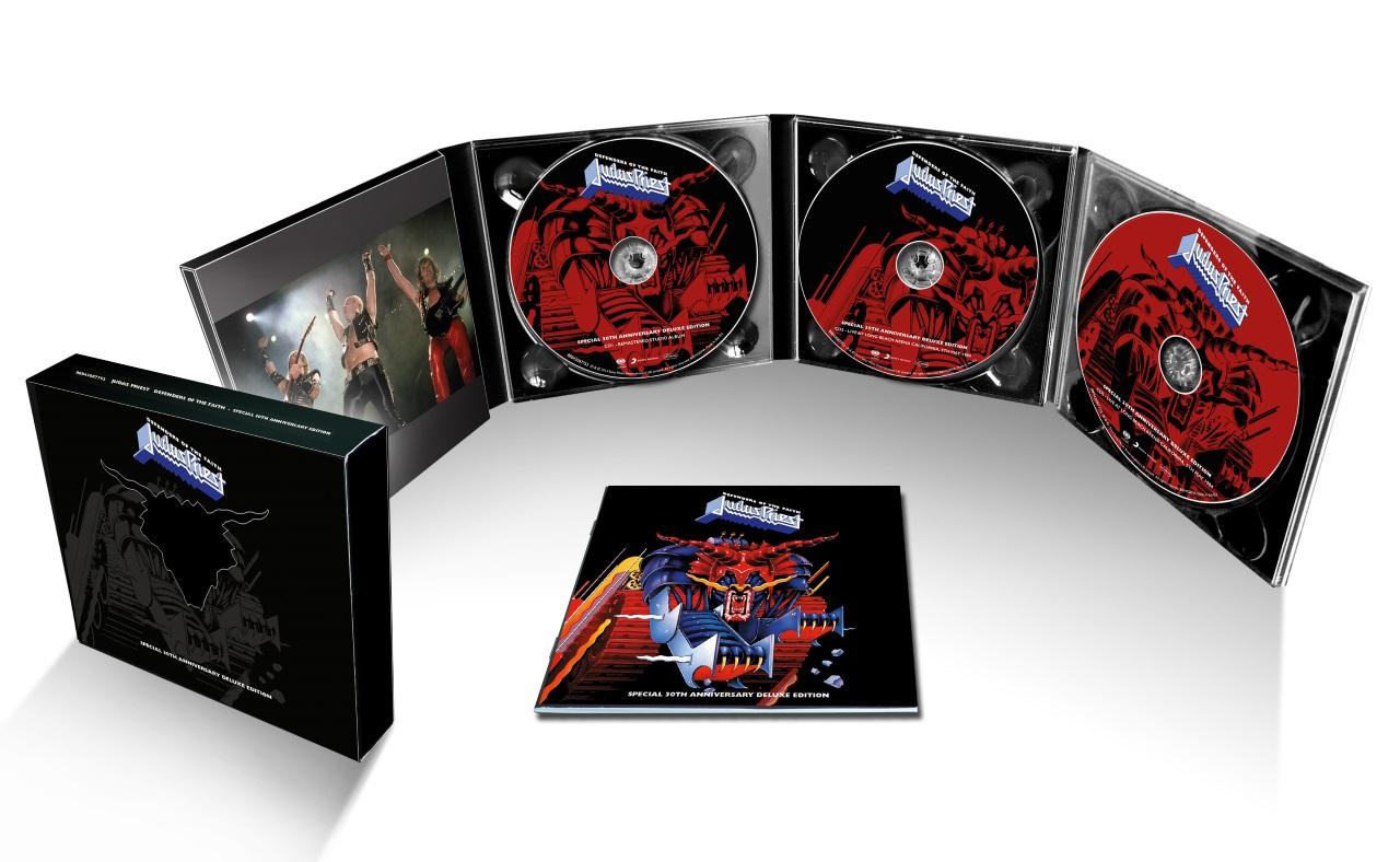 Judas Priest - Defenders 30 album artwork