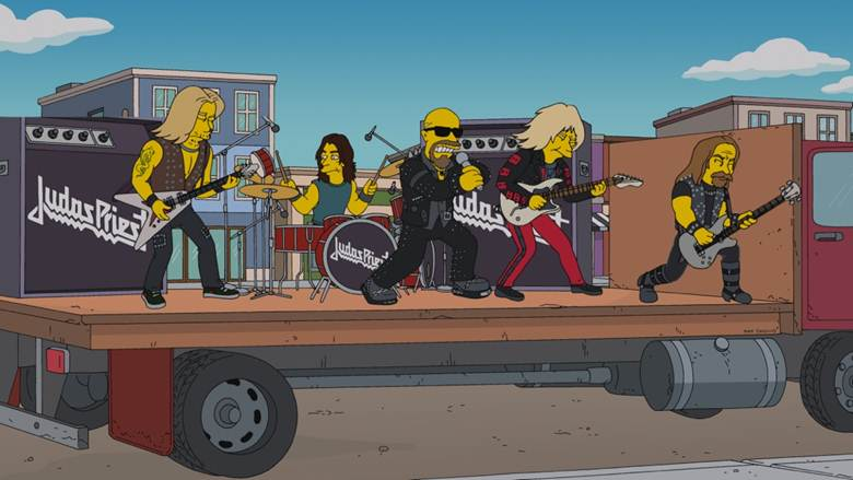 Οι Judas Priest στους Simpsons