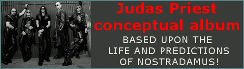 JUDAS PRIEST ConceptualAlbumBanner