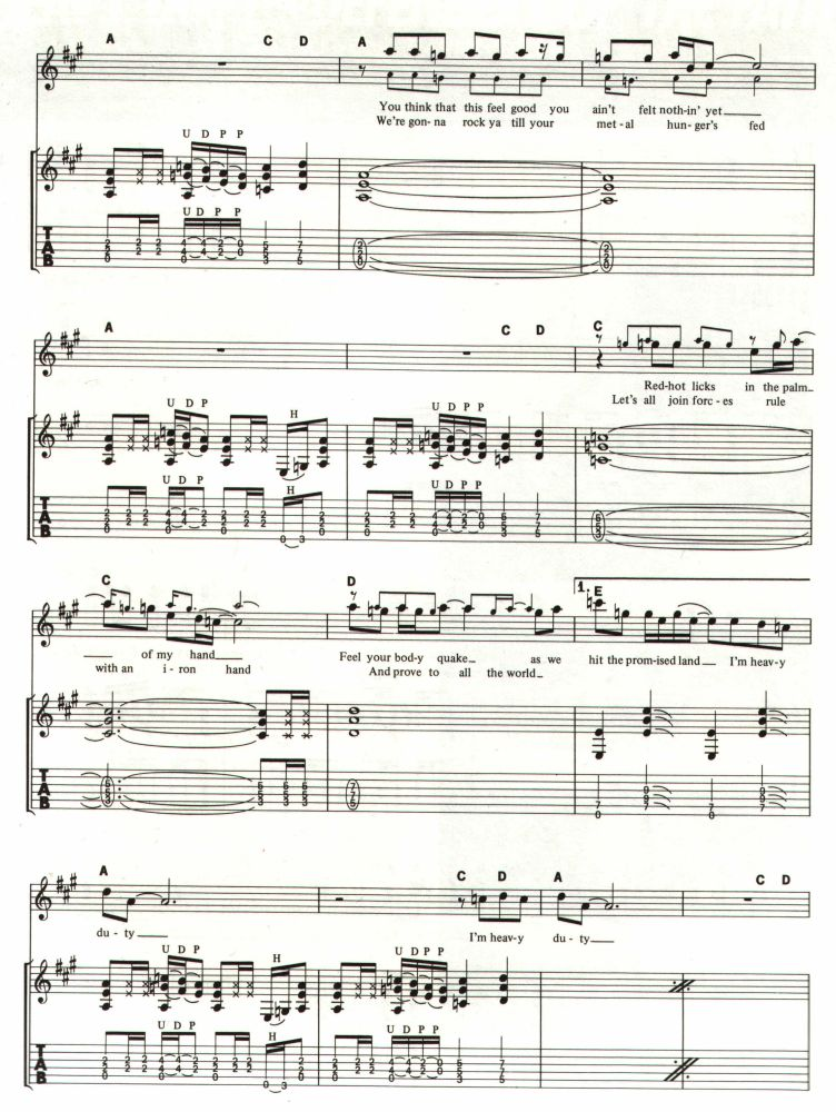 All Music Chords part of your world sheet music free : JudasPriest.com